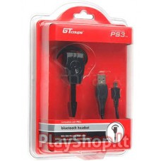 PS3 wireless bluetooth earhook headset headphone with USB cable