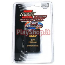 PSP 3000 / 2000 slim MAX 3.6V 2680mAh lithium battery pack