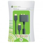 XBOX 360 L/R-RCA digital audio cable adapter with HDMI cable